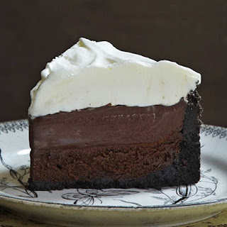 Mississippi Mud Pie (aka Muddy Mississippi Cake).