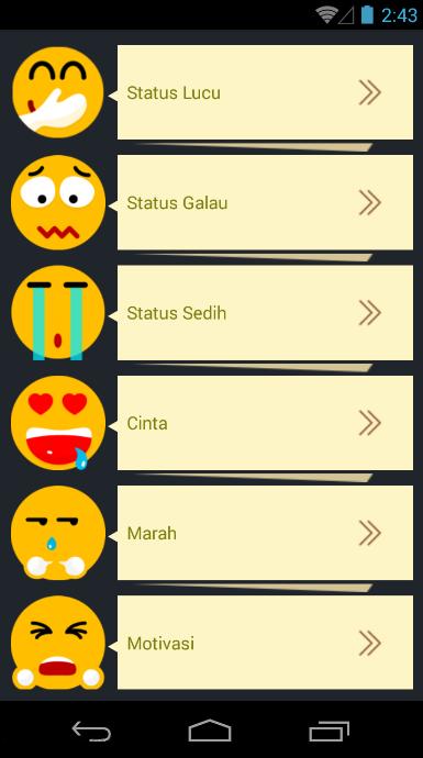 Update Status Keren Android تطبيقات Appagg