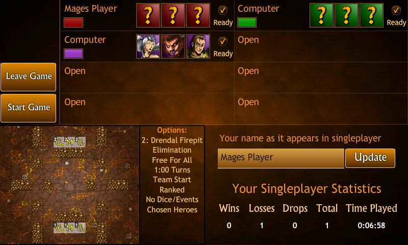 Hero Mages Silver - screenshot