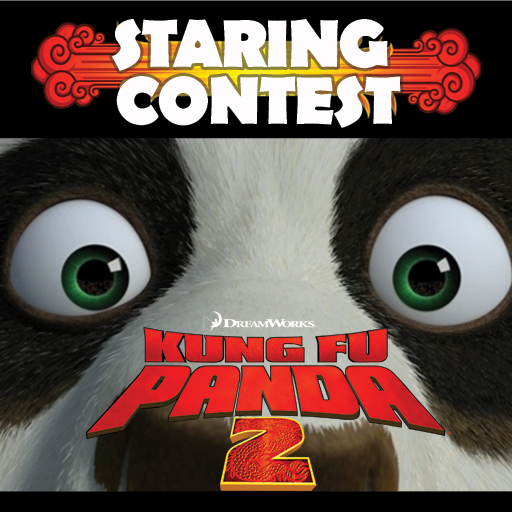Kung Fu Panda Staring Contest