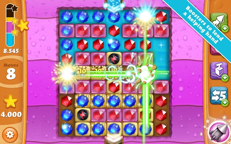 Screenshot 2 Diamond Digger Saga