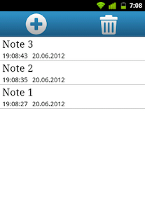 Qnote - simple notepad- screenshot thumbnail