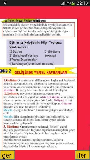【免費教育App】Kpss Gelişim Psikolojisi-APP點子