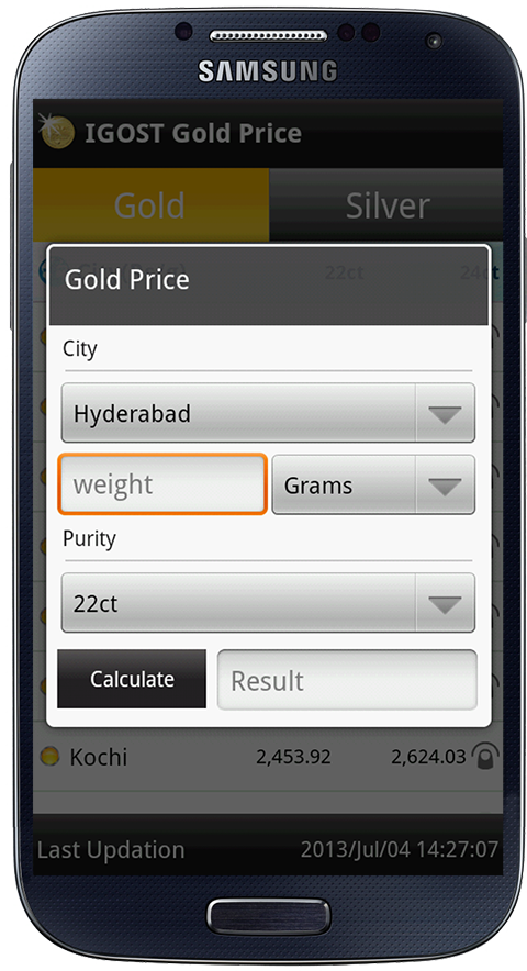Gold Live Price India- screenshot