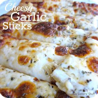 Cheesy Garlic Sticks.