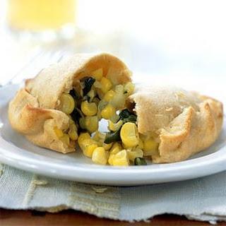 Corn and Poblano Empanadas
