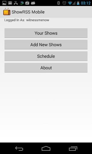 【免費娛樂App】ShowRSS Mobile-APP點子
