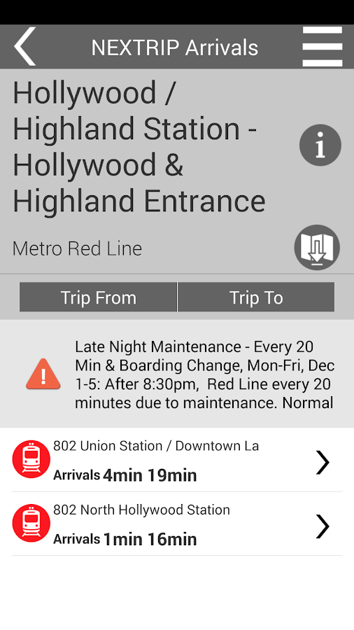 Go Metro Los Angeles - screenshot