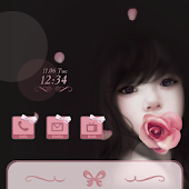 CUKI Theme Romantic Rose Gril