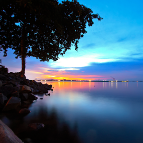 Blue water by Andi Setiawan - Landscapes Beaches