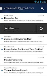 Email App for Gmail & Exchange Screenshot 26