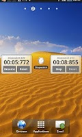 Screenshot of Simple stopwatch + Widget