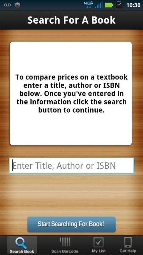 TextbookMe Cheap Textbooks - screenshot