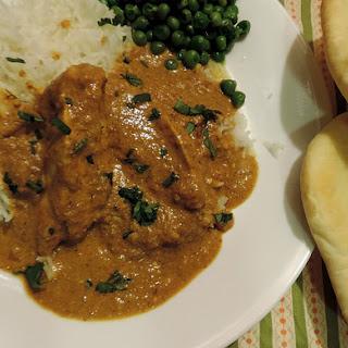 Indian Butter Chicken & Homemade Naan!.