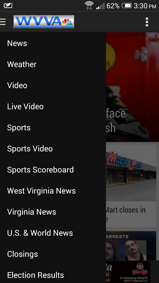 WVVA News- screenshot