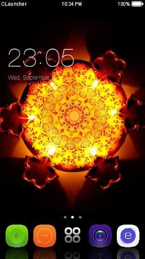 Diwali Day C Launcher Theme