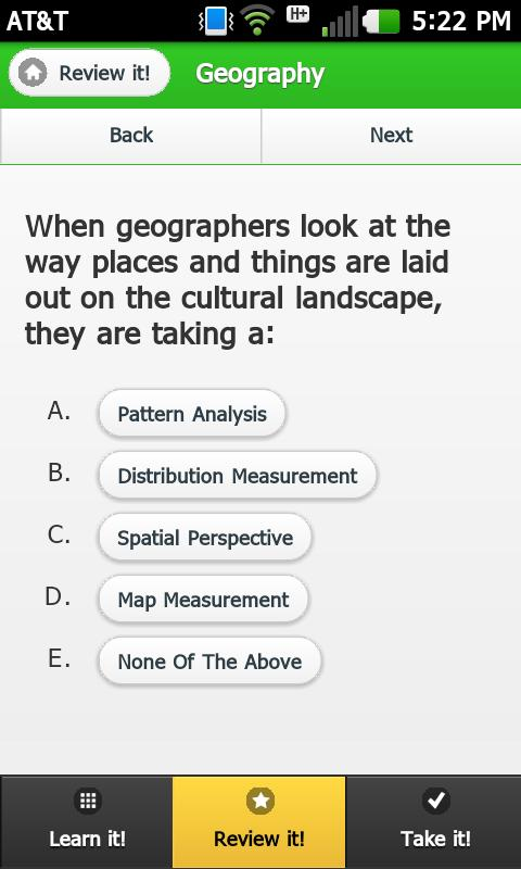 Acing AP Human Geography- screenshot