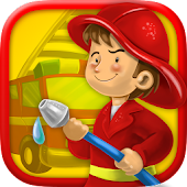 Kidlo Fire Fighter - Free 3D Rescue Game For Kids