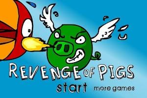 Screenshot of Revenge of Pigs