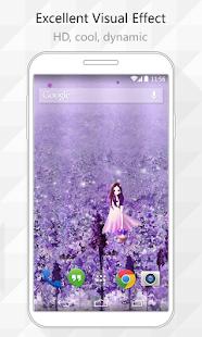 Purple fantasy Live Wallpaper