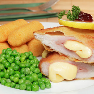 Cordon Bleu - Ham & Cheese filled Schnitzel