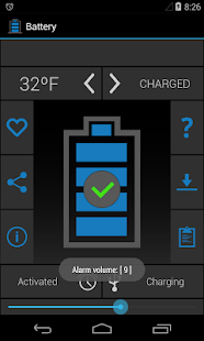 Battery-Alert Screenshot 1
