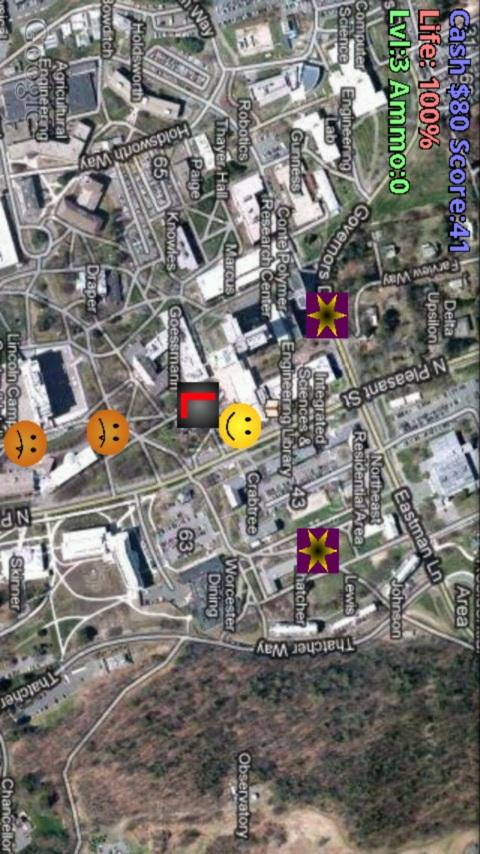 GPS Onslaught FREE - screenshot