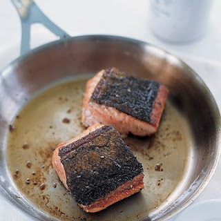 Spiced Pan-Seared Salmon.