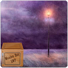 purple night field lwp icon