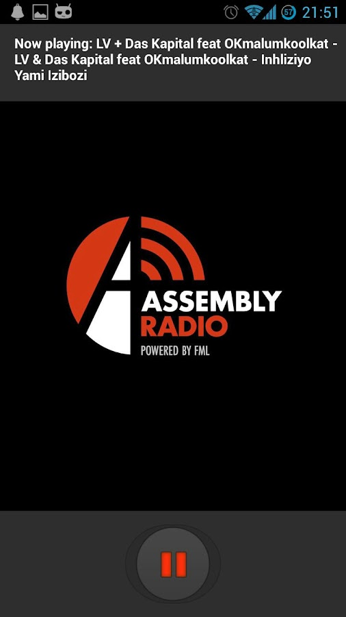 Assembly Radio- screenshot
