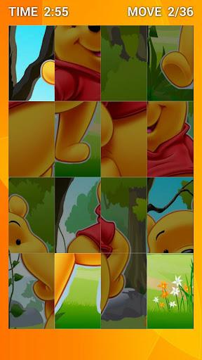 Kid's Swap Puzzle Cute Bear