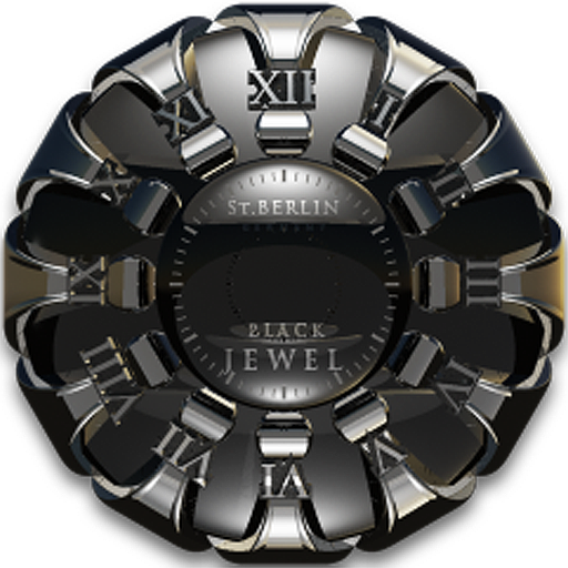 Jewel designer Clock Widget LOGO-APP點子