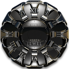 Jewel designer Clock Widget icon