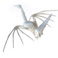 Origami Crane Skeleton