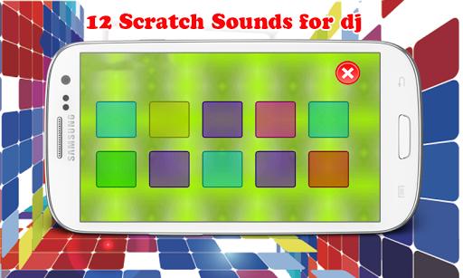 APP听起来DJ刮SFX