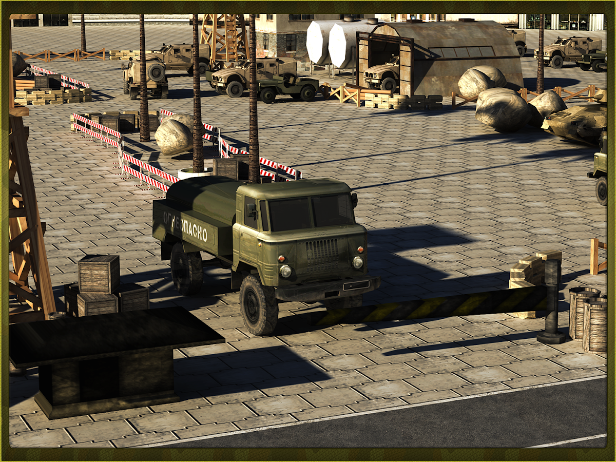 Army War Truck Simulator 3D- screenshot