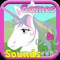 Unicorn Kid Games icon