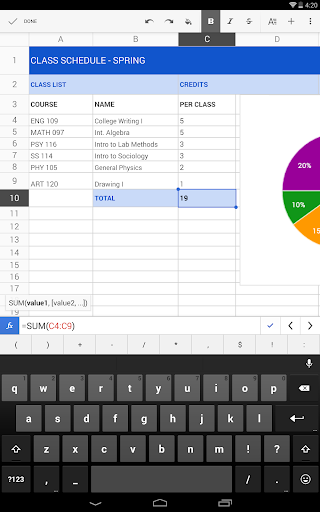 Google Sheets Apk apps 5
