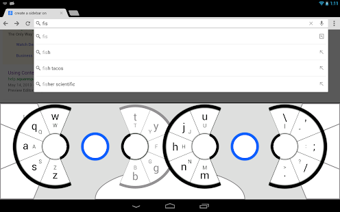Slice Keyboard: Die besondere Tastatur Alternative für Android Tablets