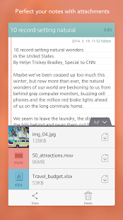 SomNote - Beautiful note app - screenshot thumbnail