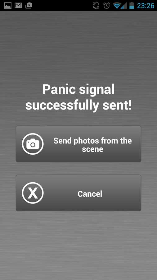 Panic Button Professional- screenshot