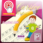 ABCD Kids Cursive Writing Free
