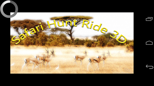 Safari Hunt Ride 3d