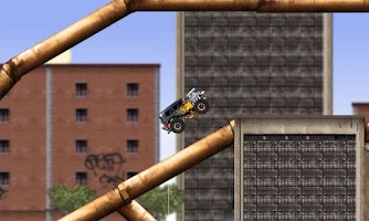 Screenshot of Monster truck Game Rage Truck