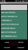 Screenshot of LauruxScan Code Barre