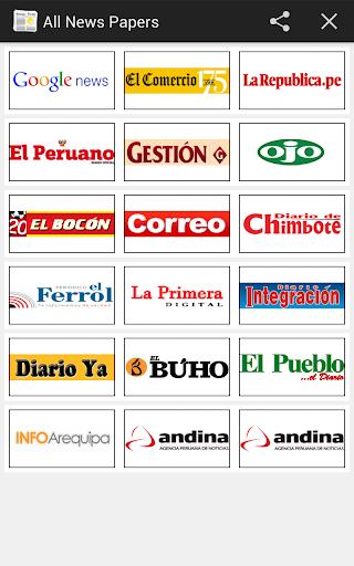 All Newspaper Peru