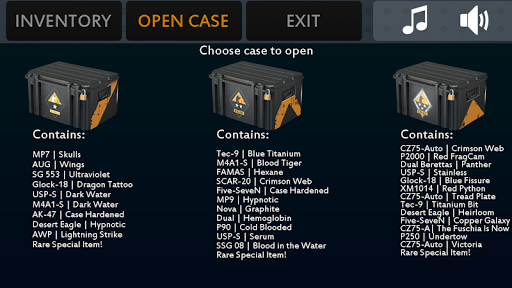 CS:GO Case Simulator Plus