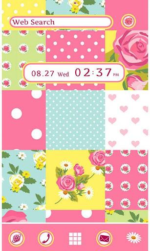 Cute Theme-Rose Quilt- 1.0 Windows u7528 1