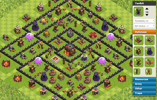 COC Level 10 Town Strategy