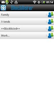 Blacklister Free- screenshot thumbnail